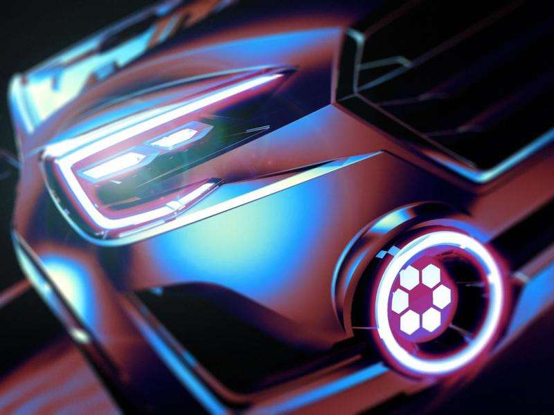 Subaru Goes All Tron On Us With Viziv 2 Teaser