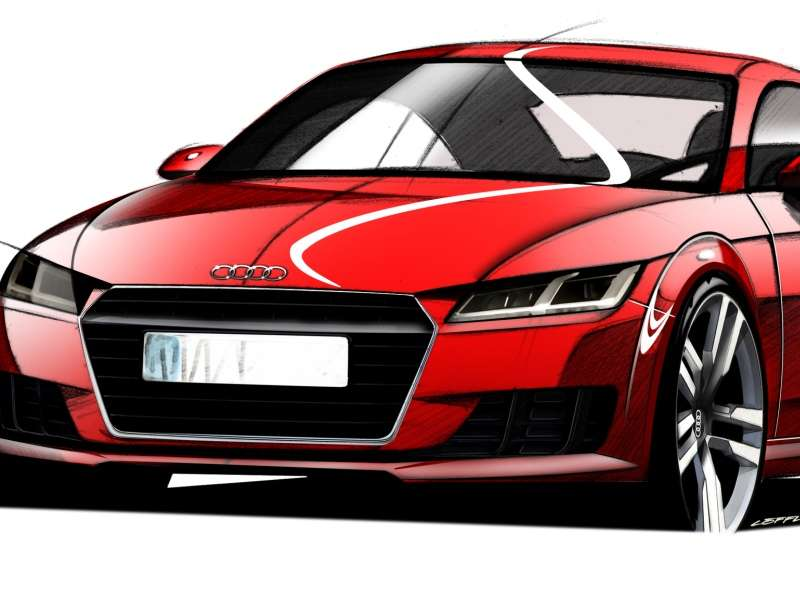 Sketching a New Direction for the 2015 Audi TT