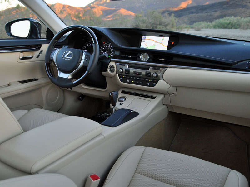 Exceptional 2014 Lexus ES 350 Luxury Sedan Road Test And Review: Features And Controls