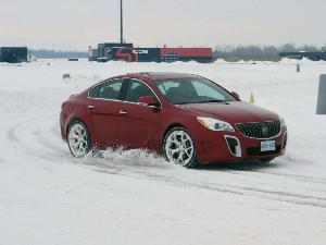 Bashing Through The Snow: Steering The 2014 Buick Regal GS AWD Through A Winter Wonderland