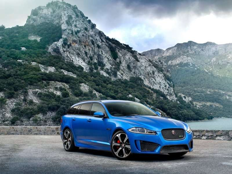 Geneva Motor Show: Jaguar Adds More Performance To The XF Sportbrake