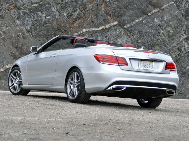 2014 Mercedes Benz E Class Cabriolet Luxury Convertible