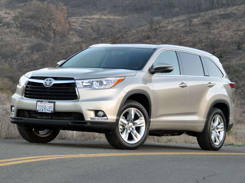 2014 toyota highlander crossover suv road test and review. Black Bedroom Furniture Sets. Home Design Ideas