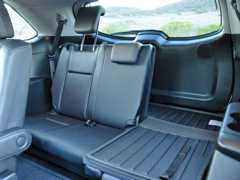 2017 Toyota Highlander Photo Gallery Thanks To This Wider Third Row Seat
