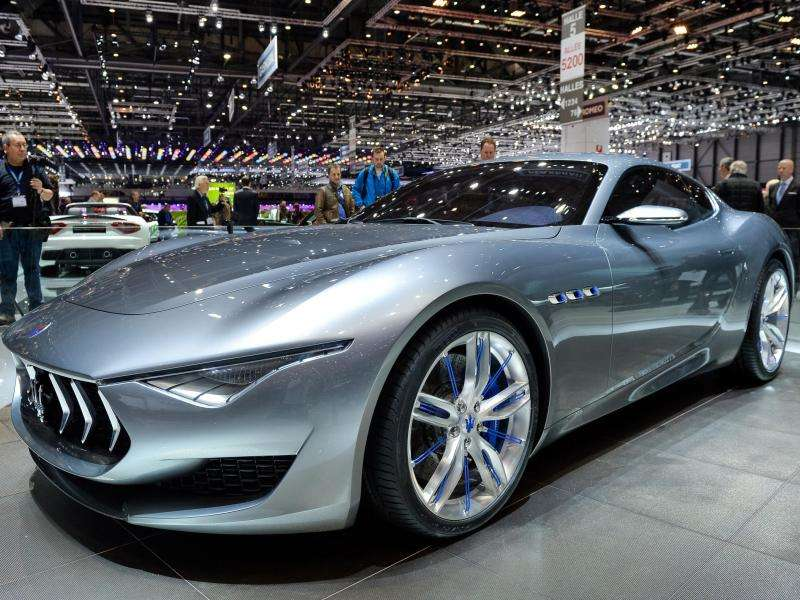 Maserati Celebrates 100 Years With The Alfieri Concept