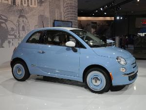 Retro-themed 2014 Fiat 500 1957 Edition Debuts This Spring