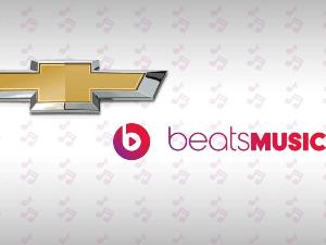Chevy to Offer Beats Music Streaming in 2015 Lineup