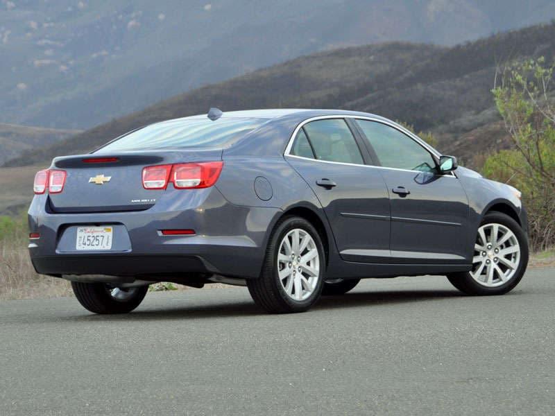 2014 Chevrolet Malibu Midsize Sedan Road Test And Review: Design