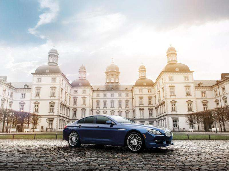 2015 BMW Alpina B6 xDrive Gran Coupe Revealed