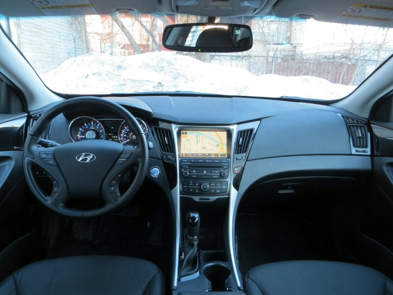 2014 Hyundai Sonata Se Interior Images Galleries With A Bite