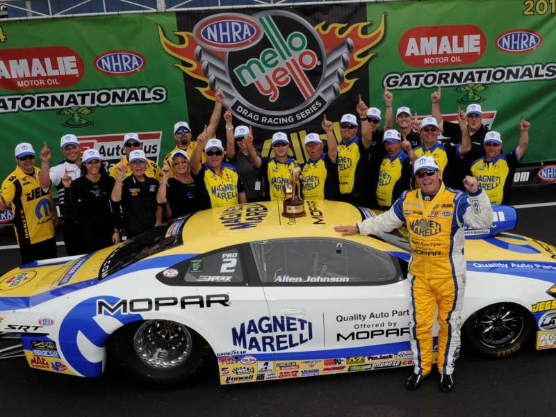 2014 Dodge Dart Claims 1st NHRA Victory in 1st Event