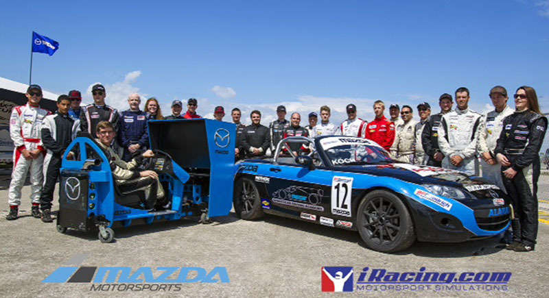 Wanted: Gamer to Go Racing in 2014 Mazda MX-5 Miata Cup Car