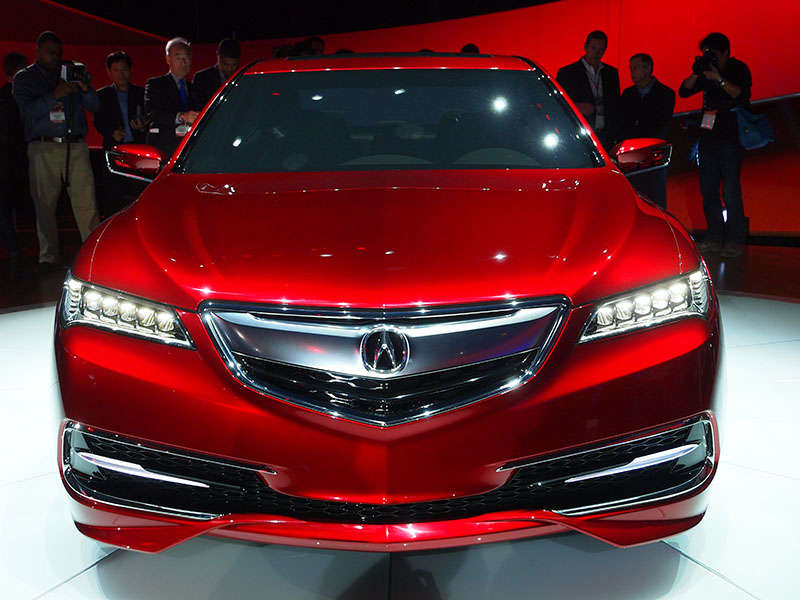 2015 Acura TLX Production Model Confirmed for NY