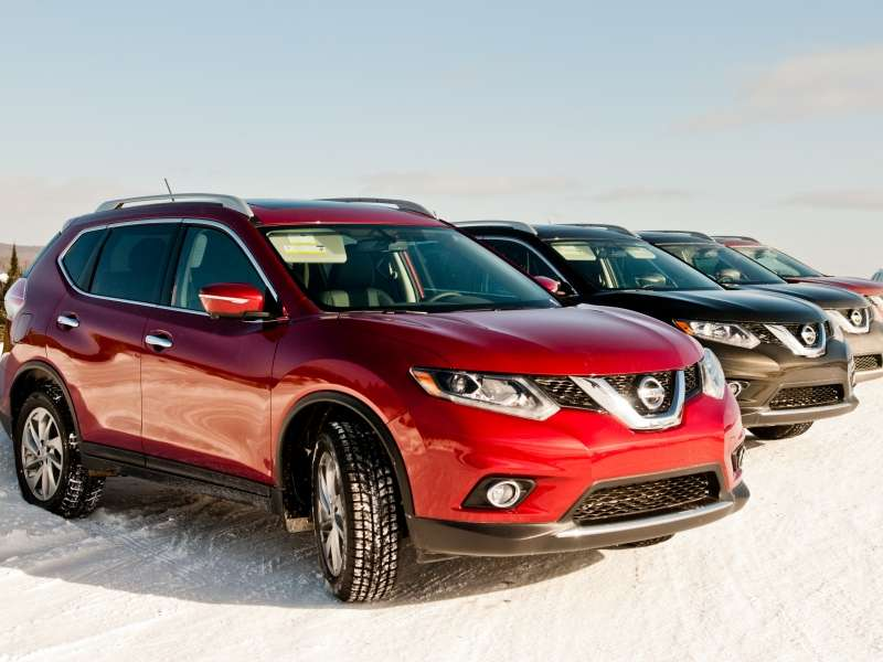 2014 Nissan Rogue Named Top Safety Pick+