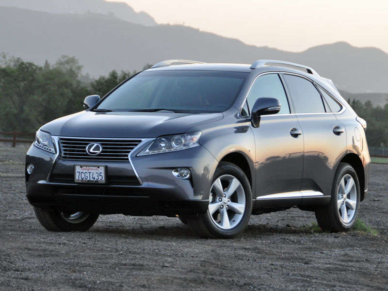 2014 lexus rx 350 luxury suv road test and review | autobytel