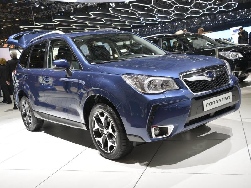 Subaru Announces Pricing for the 2015 Forester