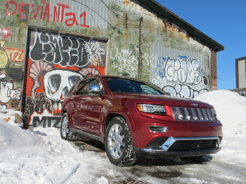 2014 Jeep Grand Cherokee EcoDiesel Summit SUV Review