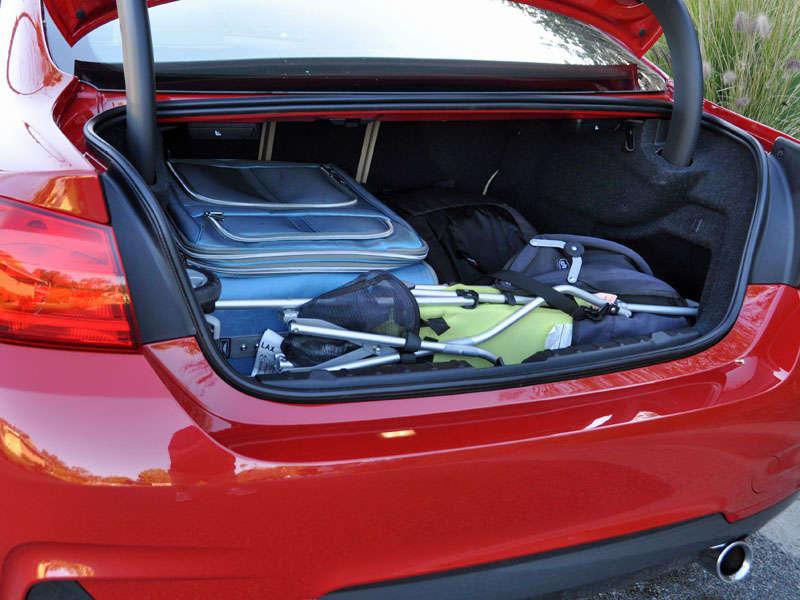 2015 bmw 428i convertible trunk