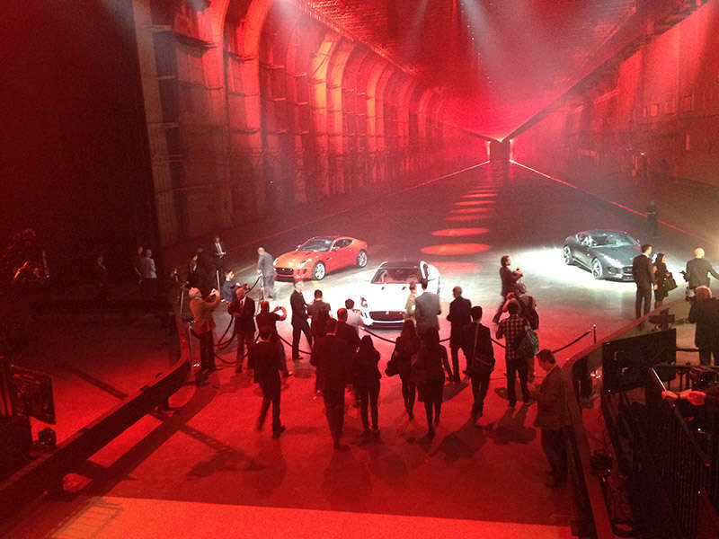 Jaguar F-Type Coupe Makes Dramatic World Debut