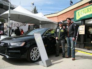 Silver Medal Skier Is First U.S. Customer for 2015 Audi A3 Sedan