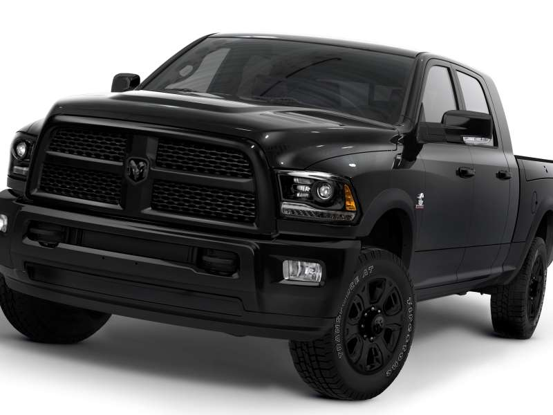 2014 Ram 2500 and 3500: Black by Popular Demand