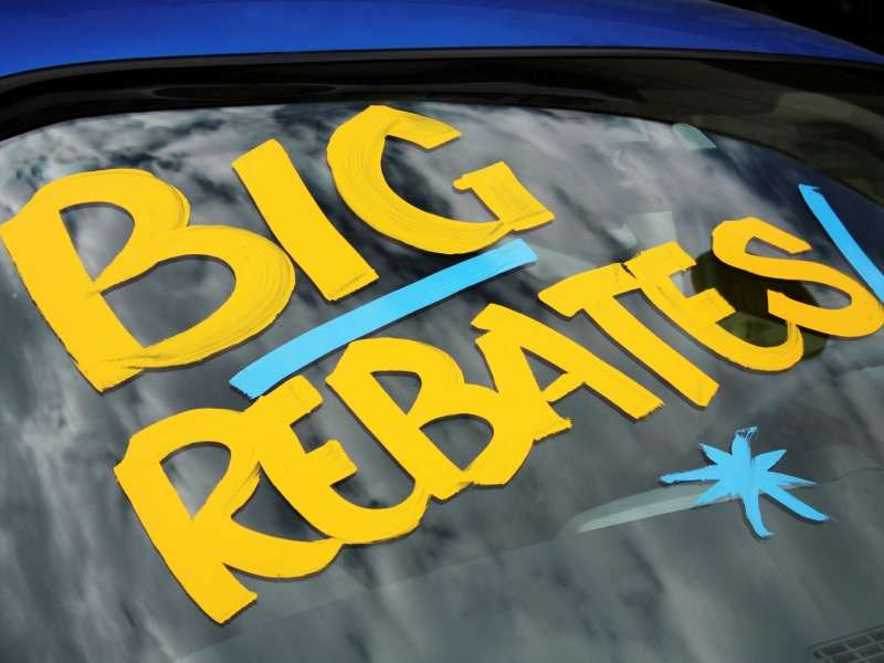What is a Vehicle Rebate?