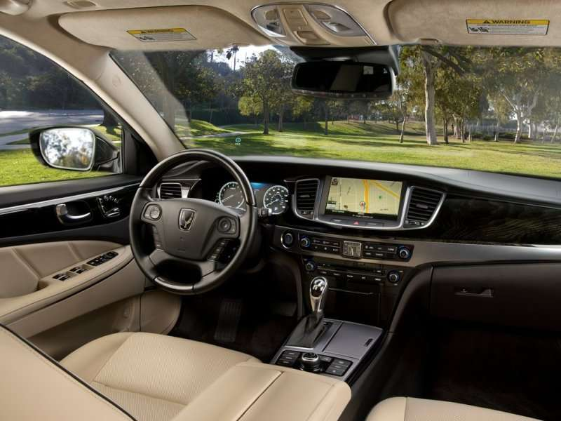 Wardu0027s: 2014 Hyundai Equus Boasts Billionaire Friendly Cabin | Autobytel.com