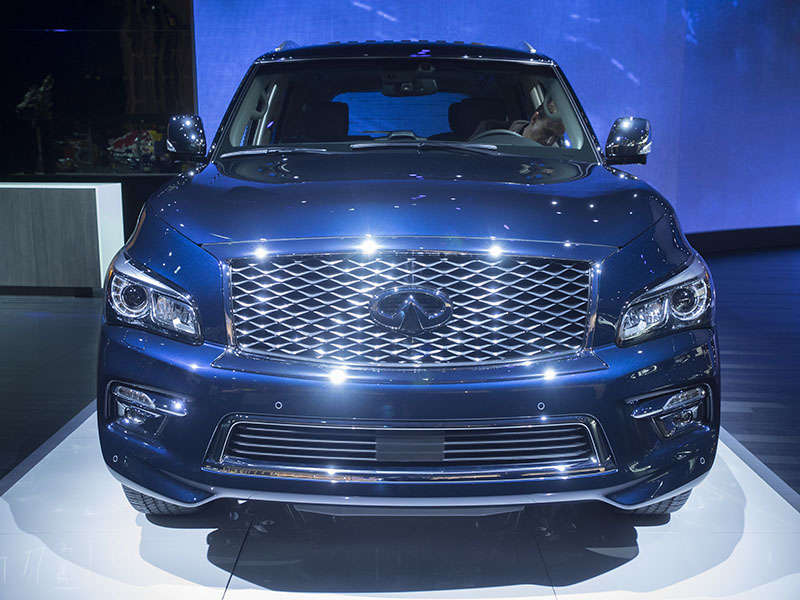 2015 Infiniti QX80 Preview: 2014 New York Auto Show