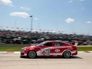 2014 Kia Optima Racecar Notches First Win of the Season