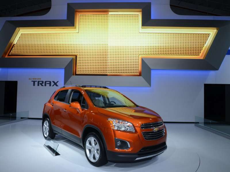 2015 Chevrolet Trax Preview: 2014 New York Auto Show
