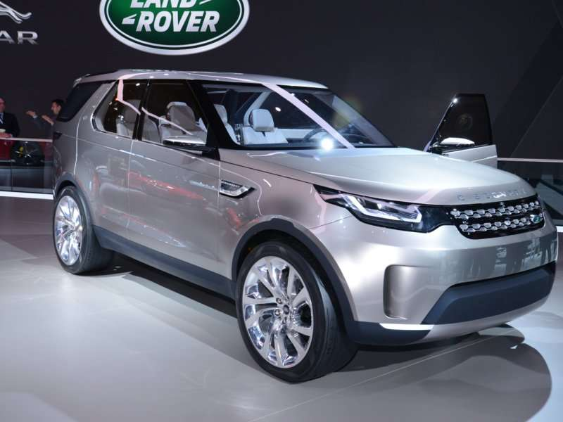 Land Rover Discovery Vision Concept Preview 2014 New York Auto Show
