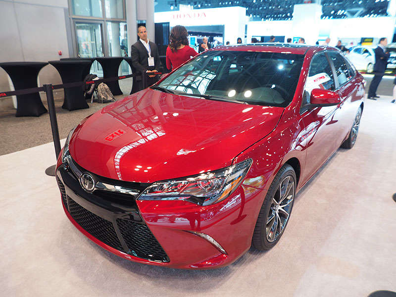 2015 Toyota Camry Preview: New York Auto Show