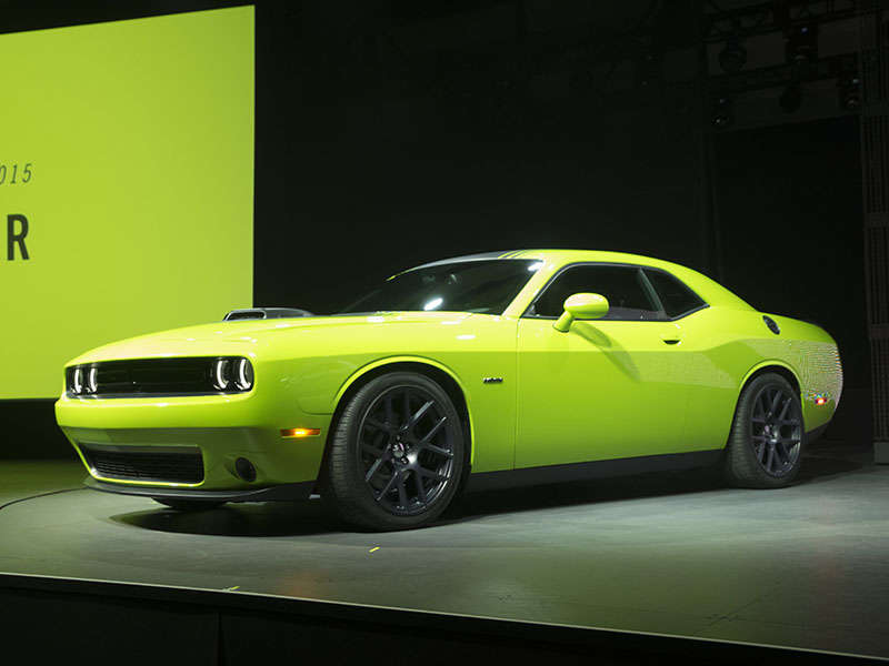 2015 Dodge Challenger Preview: 2014 New York Auto Show