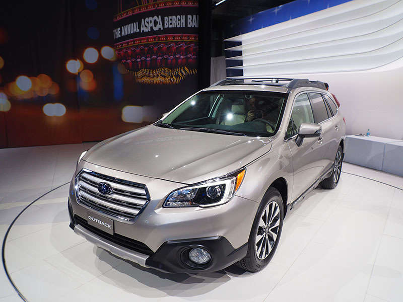 2015 subaru outback preview 2014 new york auto show. Black Bedroom Furniture Sets. Home Design Ideas