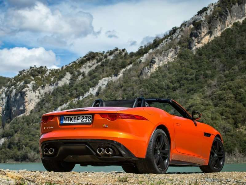 2017 Jaguar F Type V8s Convertible Road Test And Review Models Pricing