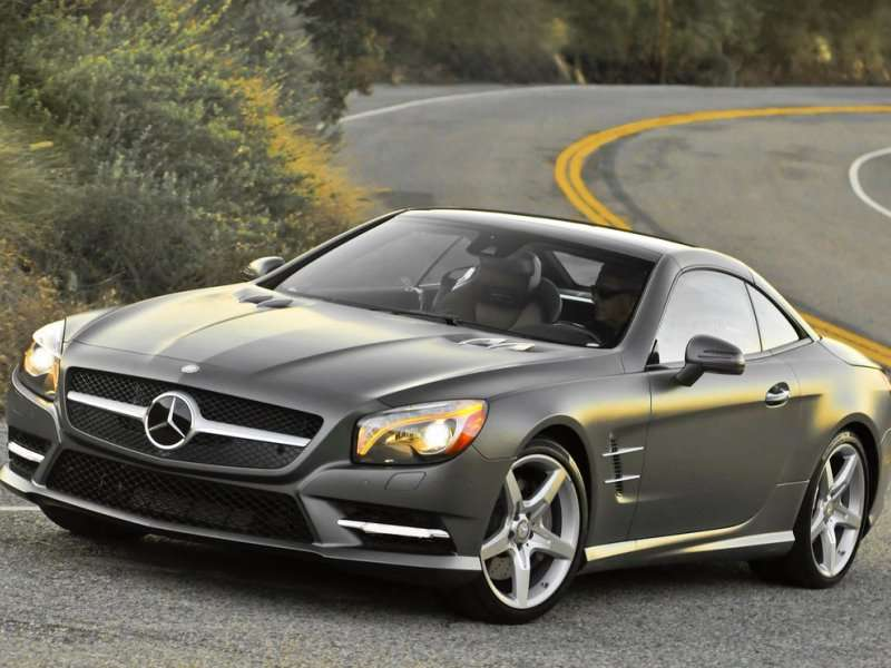 2014 mercedes benz sl550 road test review for Mercedes benz hardtop convertible 2014