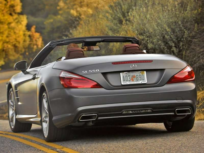 2014 Mercedes Benz SL550 Road Test U0026 Review: Models And Pricing
