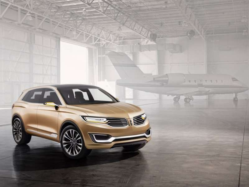 Lincoln MKX Concept Revealed In Beijing