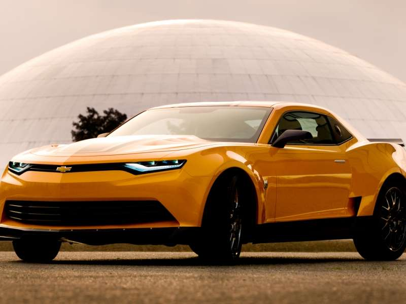 2014 Chevy Camaro Looks For Big Screen Boost From Transformers