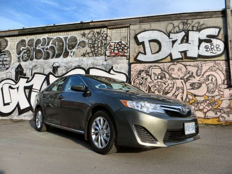 2014 Toyota Camry LE Mid-Size Sedan Review