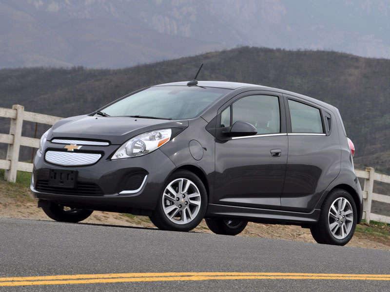 2014 Chevrolet Spark EV Review And Quick Spin: Driving Impressions