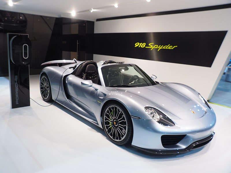 2014 New York Auto Show Fast Cars Photo Gallery: Porsche 918 Spyder