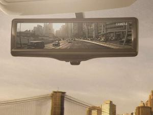 2014 Nissan Rogue Brings Smart Rearview Mirror to New York