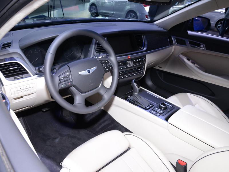 hyundai test v cockpit first genesis trend cars motor