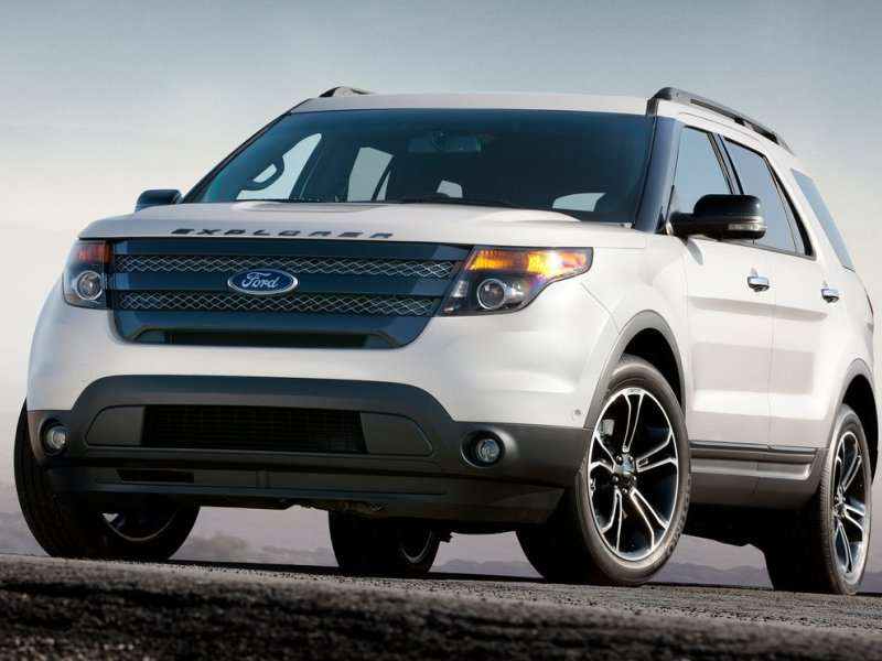10 Best V 6 SUVS For 2014   02   2014 Ford Explorer