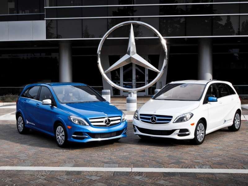 2014 Mercedes-Benz B-Class Electric Drive Opens with Sub $34K Net Pricing