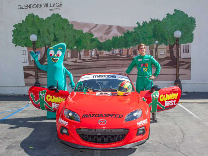2014 Mazda MX-5 Miata Gets Gumby Livery for Laguna Seca