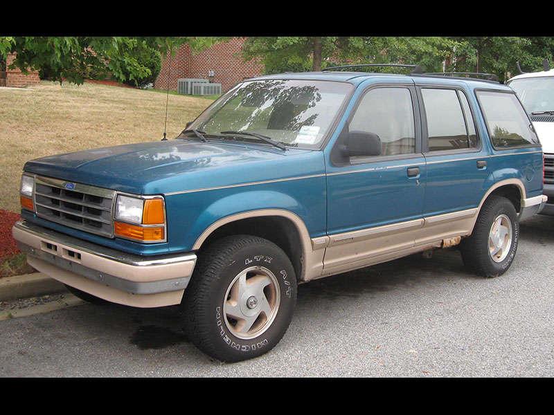 A Photo History Of The Ford Explorer Autobytel Com