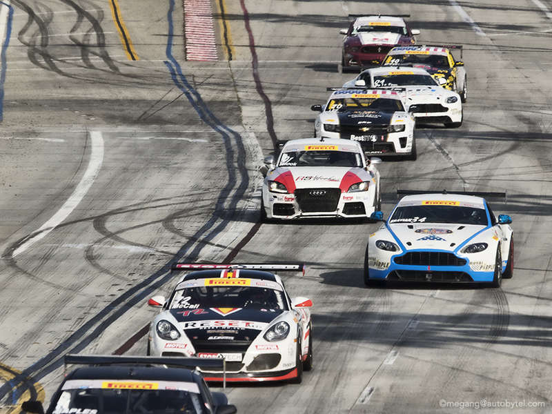 The 2014 Pirelli World Challenge at Long Beach