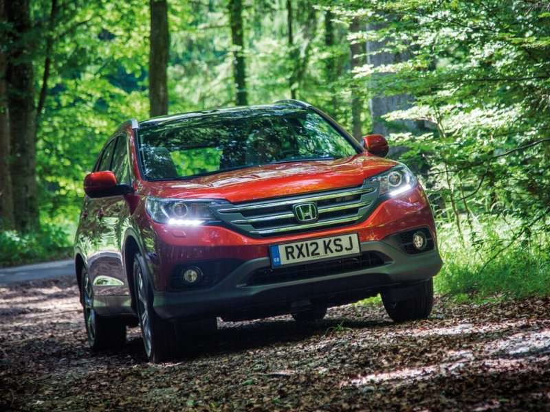 2014 Honda CR-V Tops Crossover Rankings in April